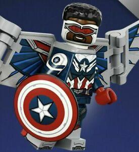 LEGO 71031 MARVEL STUDIOS MINIFIGURES Captain America - Sam Wilson #05