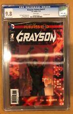 GRAYSON: FUTURES END # 1 CGC 9.8 3-D LENTICULAR COVER (11/14)