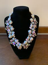 NWT $195 BETSEY JOHNSON CRABBY COUTURE SEASHELL STARFISH STATEMENT NECKLACE