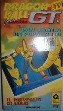 VHS - DE AGOSTINI/ DRAGON BALL GT - VOLUME 6 - EPISODI 2