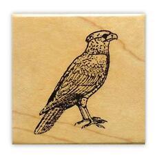 Mexican Eagle mounted bird rubber stamp, Cara Cara #9