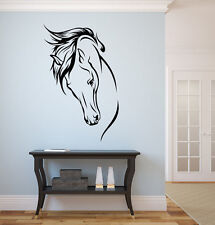 "Horse vinyl wall decal graphics 31""x20"""