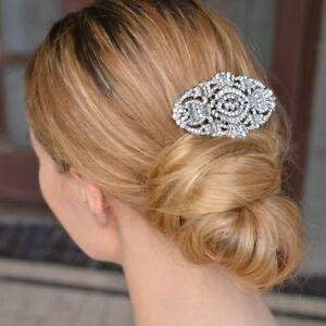 Desire Accessories Gatsby Inspired Austrian Crystal Bridal Haircomb Wedding