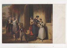 PE Destouches Der Genesende Vintage Art Postcard 152b