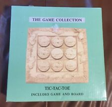 Vintage Sandstone Stone Tic Tac Toe Rabbit Vs Turtle New In Box Easter Gift