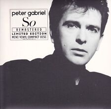 Peter Gabriel - So - Remastered - Limited Edition CD