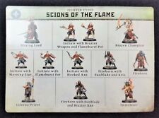 Warcry Catacombs Scions of the Flame Warhammer Slaves to Darkness Age Sigmar