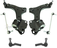 FORD MONDEO MK4 FRONT 2 LOWER SUSPENSION WISHBONE ARMS + LINKS + TRACK ROD ENDS