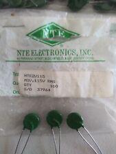 355V Clamp 135V RMS NTE NTE1V130 Metal Oxide Varistor