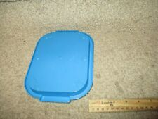 Fisher Price Fun w/ Food Blue serving tray lunch tea dinner TV snack dessert NO