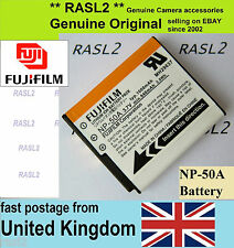 Genuine Original Fujifilm NP-50a Battery FinePix X20 X10 X-F1 F750 F800 F900 EXR