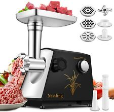 Electric Meat Grinder Stainless Steel Commercial Heavy-Duty Mincer Sausage Maker
