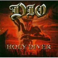 "DIO ""HOLY DIVER LIVE"" 2 CD ------17 TRACKS------ NEW+"