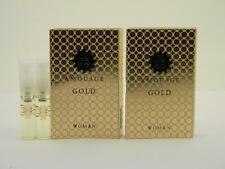 2 x Amouage GOLD Woman Eau de Parfum Vial Spray 2ml New With Card
