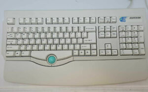 Mechanical Keyboard 5 PIN DIN PS2 Integrated Mouse Serial 9 RS232 PinOut Old