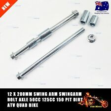 200mm Ø12mm Motorcycle Front Rear Wheel Axle for Dirt Trail Pit Bikes Thumpstar