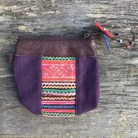 Hmong hippy hippie boho ethnic purse coin pouch unusual gift bohemian
