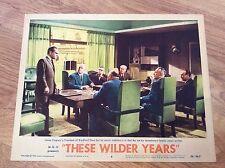 THESE WILDER YEARS Original 1956 Vintage Lobby Card JAMES CAGNEY WALTER PIDGEON
