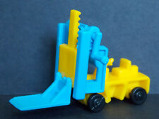 Jouet kinder Chariot Elevateur jaune / bleu K92 223 France 1991