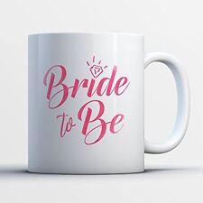 Engagement Coffee Mug - Bride To Be Engagement Funny 11 oz Black White Tea Cups