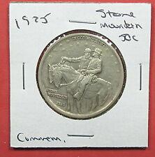1925 50c Stone Mountain Commemorative Half Dollar. Circ. Popular. (920174)