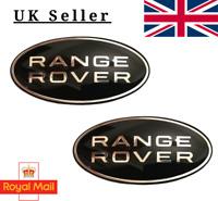RANGE ROVER FRONT GRILLE BADGE BOOT EMBLEM X 2 86mm Evoque Sport Universal