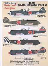 Lifelike Decals 1/48 NAKAJIMA Ki-84 HAYATE FRANK Japanese Fighter Part 2