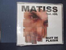 MATISS feat ADIL Nuit de plaisir NXTCDM14111 CD MAXI