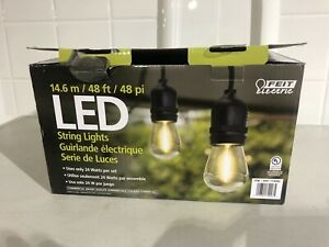 Feit Electric 72007  LED 48' Outdoor String Lights Commercial Grade The Best