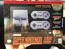 Super Nintendo SNES classic edition NEW in Unopened box 9/29 release!!