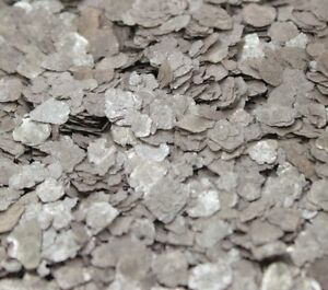 Mica Flakes - Slate Gray - Natural Mica  - The Professionals Choice - 311-4365