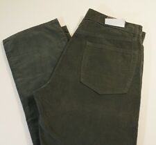 New Mens 34 x 32 Gap Corduroy Pants Straight Fit Cords Green Rapids 34/32 Jeans