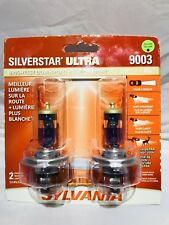 SYLVANIA 9003/H4 SilverStar Ultra Halogen Headlight Bulb, Contains 2 Bulbs