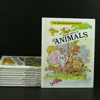 The Question and Answer Book Air Animals Plants Water Homeschool  Lot of 10