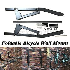 Foldable Bicycle Wall Mount Holder Bike Storage Rack Cycling Storage Hanger