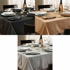 100% Polyester Solid Pattern Tablecloths