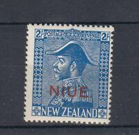 Niue KGV 1927 2/- Admiral SG48 MNH JK87