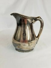 New listing 1943 Reed & Barton Silverplated 16oz Pitcher Usn Officers Mess for Wardroom Rare