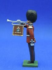 54mm Metal Toy Soldier - 54mm Scots Guard Fanfare Trumpeter LMS33