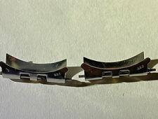 GENUINE ROLEX 455 J END LINKS 20mm 18K GOLD & STEEL SWISS 62510h DATEJUST GMT
