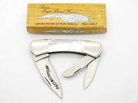 VTG PARKER SEKI JAPAN WHITTLER MOTHER OF PEARL MOP FOLDING POCKET KNIFE