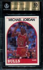 BGS 10 PRISTINE MICHAEL JORDAN 1989-90 89-90 Hoops #200 Chicago Bulls HOF RARE
