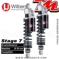 Bi-Amortisseurs Honda VTX 1800 (2004) Wilbers Stage 7 Blackline