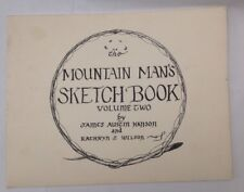 Mountain Mans Sketch Book Pattern Book American pioneer trappers