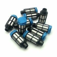 Lot of 10 Festo U-1/8 Pneumatic Silencer/Muffler, G1/8, 145PSI, 74dBA