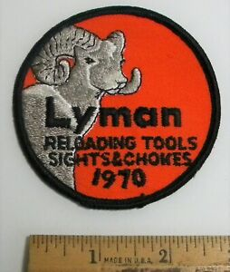 Vintage Unused 1970 Lyman Reloading Patch