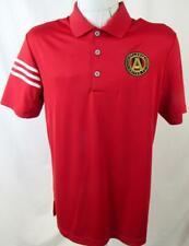 Atlanta United FC Mens Small Short Sleeve Climacool Performance Polo Shirt ATU 1