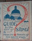 Guide to the City of Sydney- 1921 - Revised Edition - Softcover w/ Fold-out Maps