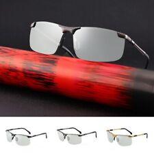 Men's Photochromic Sunglasses Polarized Transition Lens Sun Glasses UV Glasses