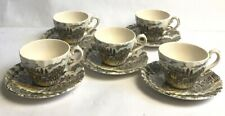 More details for myott royal mail cups and saucers fine staffordshire ware made in england